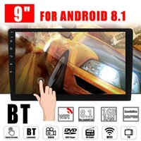 india android phone großhandel-Universal 9/10,1 Zoll 2 Din Android 8,1 Auto Multimedia Auto Radio 2Din Autoradio Gps Bluetooth FM Wifi Autoradio