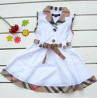Wholesale new summer casual baby girls dress princess child clothes dresses children tops kids girl skirt dresses
