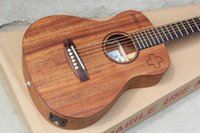 Wholesale acoustic guitar for sale - 34 quot Acoustic Guitar with Fishman Pickup Mahogany Body Chrome Hardwares quot Each quot Pattern Offer Customized