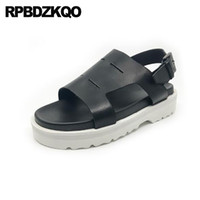 Flat Casual Strap Japanese Mens Sandals 2018 Summer Outdoor Shoes Famous Brand Boots Open Toe Black Beach Designer Leather Men
