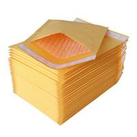 papel kraft grueso al por mayor-18 * 23cm Papel Kraft burbujea sobre de papel universal del bolso bolsas de burbuja Ligera bolsa de embalaje sobre de correo gruesa bolsa