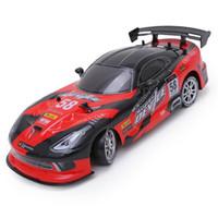 ingrosso bambini auto giocattolo elettrico-2.4G 4WD Drift Stunt auto da corsa ad alta velocità RC Drift Car telecomando giocattoli elettrici per bambini o adulti