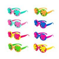 lindas gafas de sol de dibujos animados al por mayor-2019 Nuevos chicos y chicas de verano Cute Cartoon Sunglasses Gafas de sol con montura ANTI-UV Protección Reflective Kids Sunglasses B001