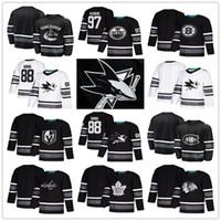 трикотажные изделия оптовых-2019 Все звезды хоккей кофта Сан-Хосе Шаркс-Чикаго Блэкхокс хоккей кофта Эдмонтон Ойлерз-Вегас