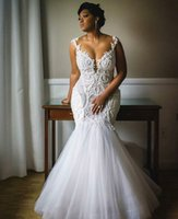 Wholesale girls sexy mermaid wedding dresses online - Special link for the Wedding dress plus size custom made black girls mermaid wedding gowns sleeveless button back hollow sweep train