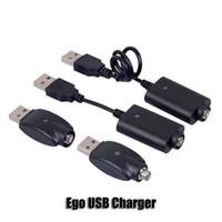 ingrosso evod c batteria-Ego USB caricatore della sigaretta elettronica E Cig fili Cavo per 510 Ego T C EVOD 3 mini batteria visione Twist Spin 2
