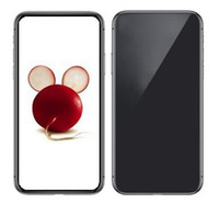dört çekirdekli telefon stoğu toptan satış-6.5 inç Yeşil Etiket Mühürlü Goophone XS Max Android 7.0 Dört Çekirdekli MTK6580 1 GB 16 GB 1520 * 720 HD 13MP 3G Çift Sim Cep Telefonları