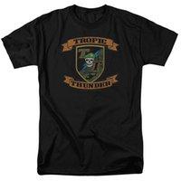 ingrosso t patch-Maglietta Tropic Thunder Patch T-Shirt S-3X NEW Uomo Donna Unisex Fashion Tshirt Spedizione gratuita
