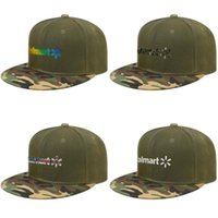 Wholesale cap hats store for sale - Group buy Walmart application coupons store logo Mens and womens Baseball Camouflage Cap Cool Design your own Original hats Gay pride rainbow Army