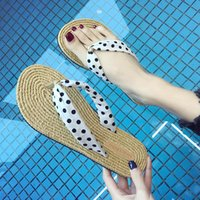 Wholesale barefoot shoes for women resale online - Black Friday Women Shoes Summer Bohemia Floral Beach Sandals Wedge Platform Thongs Slippers Flip Flops For Women Platform Slippers Slides