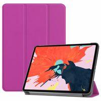 casos de tablet animal venda por atacado-Magnetic inteligente case para ipad pro 12.9 2018 tampa com três dobras stand ímã case auto sono / wake pu capa de couro para ipad pro12.9