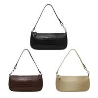 sacs à motifs achat en gros de-Rétro modèle d'alligator sacs à main Messenger femmes occasionnels sacs à bandoulière solides