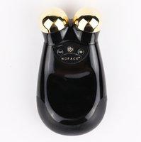 ingrosso massager di qualità-Massima qualità Nuface Trinity PRO Face Massager Beauty 22K Gold Edition oro nero con pacchetto di vendita al dettaglio e DHL di qualità superiore
