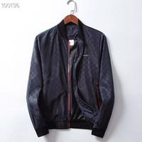 ingrosso uomini in velluto in nylon con cappuccio-RR 19SS giacca a vento marchio moda italiana giacca stampa serpente medusa giacca a maniche lunghe casual uomo giacca M-3XL