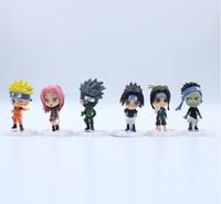 naruto gerações venda por atacado-Seis 18 Gerações Shadow de Fogo Um Ninja de Mão Naruto Chuno Sakura Cassizo Ajuda Bolo de Marionetes Arranjos Automáticos