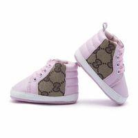 zapatos de suela blanda al por mayor-Nueva llegada zapatos de bebé ocasionales suela blanda de cuero de la PU recién nacidos niños niñas primeros zapatos de Walker zapatos infantiles envío gratis