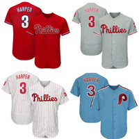 superior quality 5e9fa 1c022 Wholesale White Bryce Harper Jersey for Resale - Group Buy ...