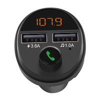 Wholesale best wireless mp3 player for sale - Group buy Bluetooth FM Transmitter Wireless Handsfree Car Kit MP3 Player Dual USB Car Charger F Best