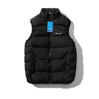 Livraison gratuite hommes femmes gilet d'hiver Veste Body Warmer Hommes gilet à capuchon hiver veste extérieure gilets en coton manteaux survêtements