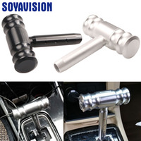 Wholesale gear levers resale online - Universal Shift T Handle Auto Shifter Knob for for KIA Gear Shifter Stick Lever Headball AT MT Arm Pen POMO
