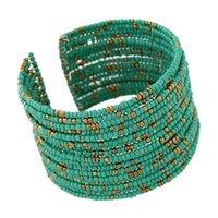 ювелирное качество сплава оптовых-New Vintage Fashion Kwabosim Open Alloy Bead Bracelet Color Travel Casual Jewelry for Women Temperament High Quality Jewelry