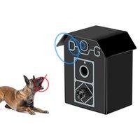 köpek kontrol cihazı toptan satış-Sonic Bark Kontrol Açık Bark Denetleyici, Köpek Anti Barking Cihazı Barking Dur Köpekler Susturucu Bark Kesici