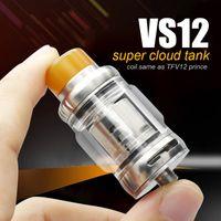 buhar x tanklar toptan satış-Vapesoon yeni VS12 bulut buharı Atomizer aynı bobin TFV12 prens tank ile MAG için sıcak satış RTA x-priv revenger kiti RTA
