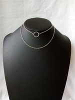 ingrosso alex ani-cecmic semplice cerchio alex e ani pendente 2 gioielli collane a strati