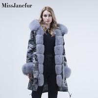 пальто с капюшоном для женщин оптовых-womens winter fur coat parka fur hood real  jacket jacket Custom ladies parka women