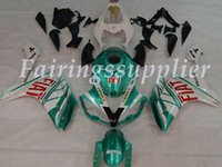 Wholesale yamaha r1 white green for sale - Group buy New Injection molding ABS Fairing Kits Fit For Yamaha YZF R1 Fairings set Green Emerald White