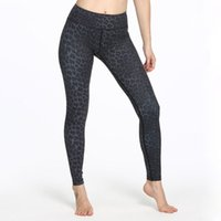 Wholesale sexy yoga pants for women resale online - High Waist Leopard Yoga Pants Sport Trousers Women Sports Leggings For Fitness Sexy Gym Clothes Print Full Length Elastic Waist