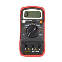 Wholesale insulation tester meter for sale - Group buy BM500A V Digital Auto Range Insulation Resistance Meter Tester Megohmmeter Voltmeter Megger High Voltage LED indication