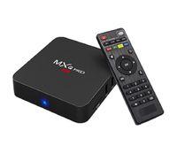 андрейд телевизоры оптовых-MXQ PRO Andriod ТВ Box 1G 8G Rk3229 с Android 7.1 Quad Core HD 2.4G Wi-Fi Set Top Box Iptv Подписка