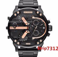 ingrosso gli azzurri g guarda gli uomini-Higt qualità Sport militare montres mens nuovo reloj 55mm grande quadrante display diesels orologi dz watch dz7331 DZ7332 DZ7315