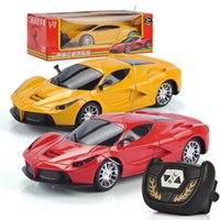 Wholesale speed controller rc resale online - RC Car Radio Remote Control Cars Drift Speed Racing Xmas Gift For Children Yellow Red Fashion Cool High Quality ss D1