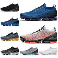 Wholesale bright yellow fabric resale online - Triple White Black women men running shoes South Beach Gym Blue Bright Mango Volt mens trainers Sports Sneakers