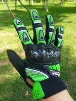 ingrosso guanti da corsa di dimensioni-All'ingrosso MOTO all'ingrosso guanti del motociclo guanto racing moto comando a mano di formato nero e verde M L XL