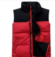 ingrosso giacche da campeggio all'aperto-2019 degli uomini superiori giù Felpe Giacche NORD Camping antivento sci caldo giù cappotto della maglia esterna casuale con cappuccio sportivo FRONTE 066