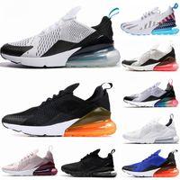 volt ayakkabıları toptan satış-270 Parra Sıcak Yumruk Fotoğraf Mavi Erkek Kadın Koşu Ayakkabıları Üçlü Beyaz Üniversitesi Kırmızı Zeytin Volt Habanero 27C Flair 270 s Sneakers 36-45