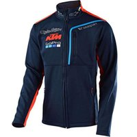ingrosso giacca moto-Moto GP Racing Fan Abbigliamento Felpa da moto per giacca antivento da moto antivento in cotone KTM Giacca da moto da corsa 054