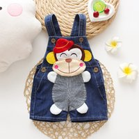 Wholesale boys jeans pants overall for sale - Group buy IENENS Summer Toddler Infant Boy Pants Jeans Dungarees Child Kids Cartoons Denim Shorts Overalls Baby Boys Short Trousers pc