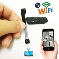 lityum video kameralar toptan satış-Moda Yeni WiFi Mini Kamera Kablosuz HD 1080 P Dijital Kamera Video Kaydedici Moda WiFi Mini Kamera