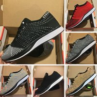 zapatos color lavanda mujer al por mayor-NIKE Air Zoom Marish FIykit 1 envío libre de calidad superior N11-1 Hombres Mujeres Zapatos Casual arándano pistacho lavanda ligero de color transpirable zapatos para caminar FL104