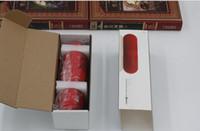 box музыка pill оптовых-DHL бесплатная доставка продажа горячая таблетка Bluetooth мини-динамик переносной беспроводной стерео музыка звуковой ящик аудио супер бас U диск TF слот с ручкой