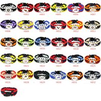 Wholesale rugby jerseys free shipping for sale - Group buy Football Jersey Bracelet Rugby Bracelet Models Cowboys Paracord Bracelet DHL