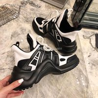 Wholesale concrete modelling for sale - Group buy black sneakers women shoes luxury designer shoes brand High quality fashion women shoes size model YRCL13