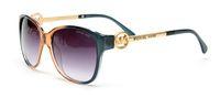 gafas de color teñido al por mayor-con estuche Gafas de sol de mujer Lentes de color teñidas Hombres Gafas de sol de lujo al aire libre Vintage Gafas femeninas Gafas de sol azules Diseñador de la marca