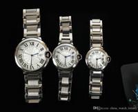 vendedor de cajas de relojes al por mayor-Vendedor caliente hecho relojes de mujer Ballon azul diseñador de lujo vestidos de zafiro reloj cierre plegable caja reloj de pulsera