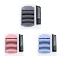 tragbare hausklimaanlagen großhandel-Neue 3 in 1 beweglichen Mini-Luftkühler USB Klimaanlagen-Kühlvorrichtung Reiniger Geeignet für Home Office