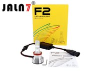h7 cree led kit toptan satış-F2 LED Far Ampüller Dönüşüm Kiti CREE Chips H1 / H4 / H7 72W 12000LM 6500K - Düşük Huzme / Uzun Huzme / Sis Farı
